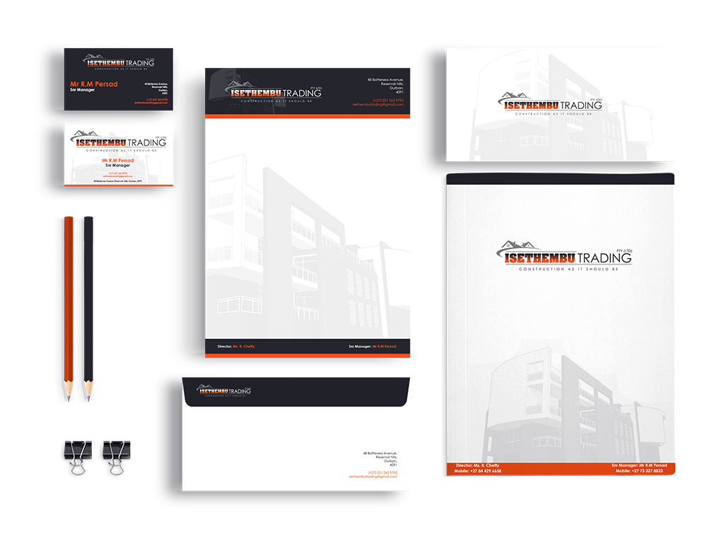 This image is to display our corporate branding designs skills