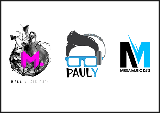 This image is to display our logo designs skills for the music industry